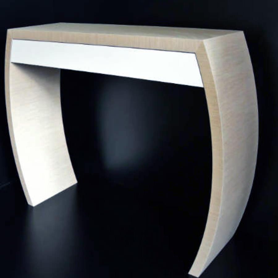 console sur mesure par eric b. Black Bedroom Furniture Sets. Home Design Ideas